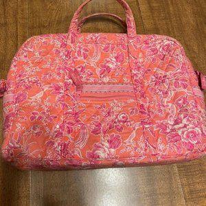 Vera Bradley Pink Quilted Computer Bag